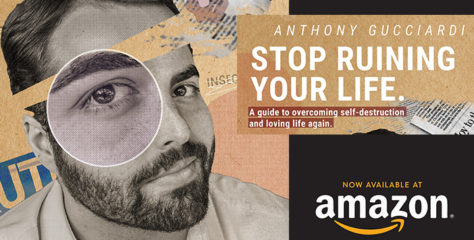 New 'Stop Ruining Your Life' Book Available Now on Amazon